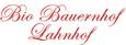 Bio Bauernhof Lahnhof